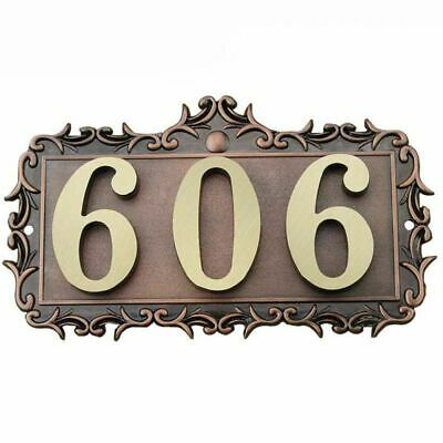 3-4 NUMBERS LETTERS House Apartment Door Address Plaque ...