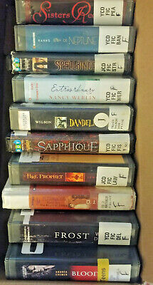 LOT OF 10 Teen/Preteen Audio books CDs Unabridged Fiction