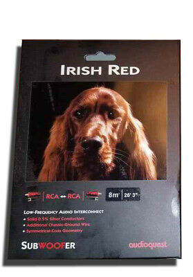 AudioQuest Irish Red-8.0m