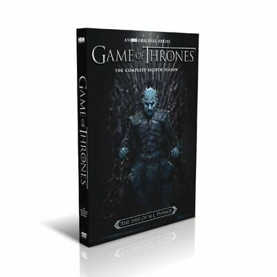 Game Of Thrones:The Complete Last Season Set  (DVD, 3-Disc Set) New And Sealed!