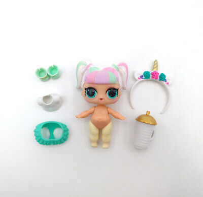 LOL Surprise Doll UNICORN Figure Confetti Pop Wave 2 Series 3-012 Color Change