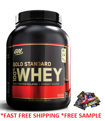 On Optimum Nutrition Gold Standard 100% Whey Protein 2Lbs And 5Lbs O.n