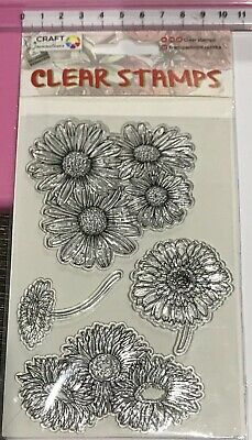 Clear Stamps ~ Beautiful Flowers - Sunflowers +++