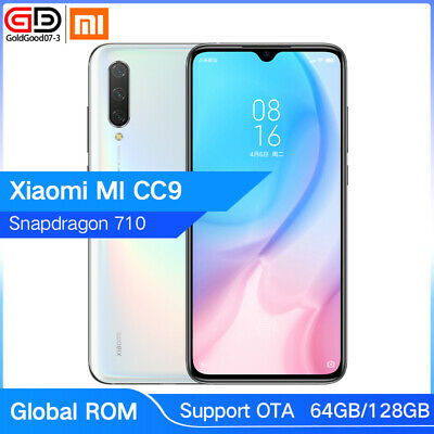 "Global Xiaomi Mi CC9 64GB 128GB Snapdragon 710 6.39"" 48MP NFC 4G LTE Smartphone"