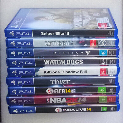 Sony PlayStation 4 - Video games PS4