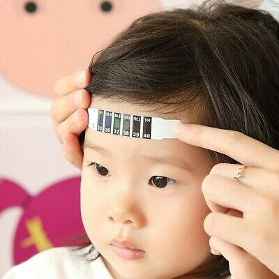 Forehead Thermometer Strip Baby Fever Kids Child Check Test Temperature
