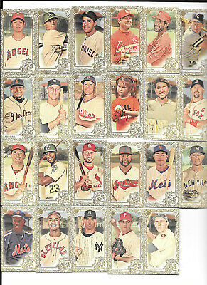 2019 Topps Allen & Ginter Gold Mini Sp (1-400) Pick From List Complete Your Set