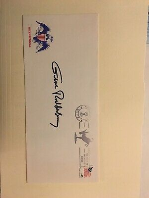 Gene Roddenberry autographed Signed Bicentennial Envelope New Lower Price