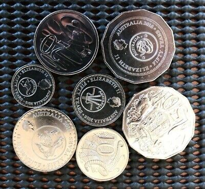 2016, Australian 4 Coin Set of 50th Anniversary of Decimal Currency. CHANGEOVER!