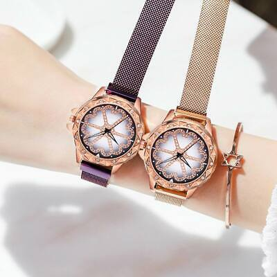 Starry Sky Diamond Dial Ladies Watch Fashion Decorative Watch Magnetic Stainless