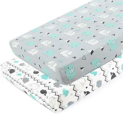 Pack n Play Stretchy Fitted n Playard Sheet Set-Brolex 2 Portable Mini Crib...
