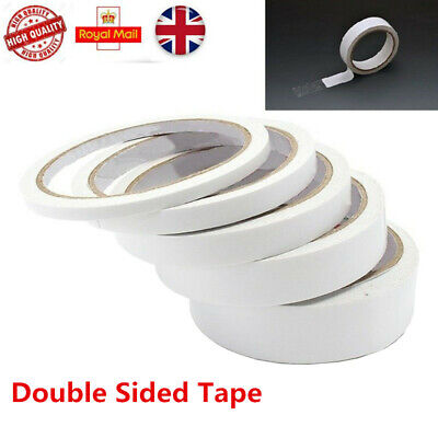 Double Sided Clear Sticky Tape Diy Strong Craft Adhesive 6Mm 12Mm 20Mm 40Mm