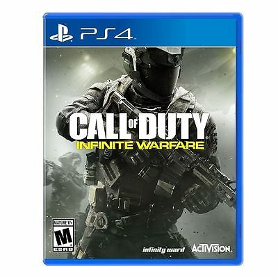 Ps4 Video Game Call Of Duty Infinite Warfare New Free Shipping Canada Usa