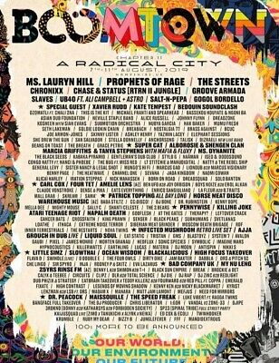 Boomtown 2019 Ticket Thursday Entry