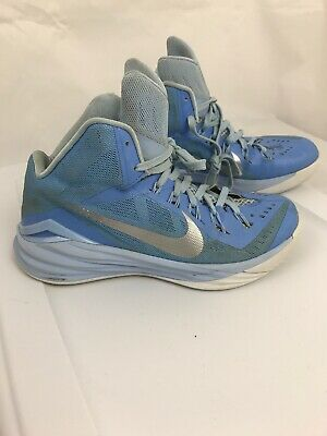 b095f6498ba1c NIKE HYPERDUNK 2014 Basketball Shoes Powder Blue White 653483-405 Mens Size  8.5
