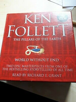 Ken Follett World Without End And Pillars Of The Earth Audio Books On Cds
