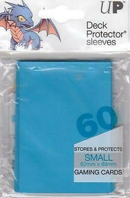 Deck Protector Sleeves Small Solid Blue