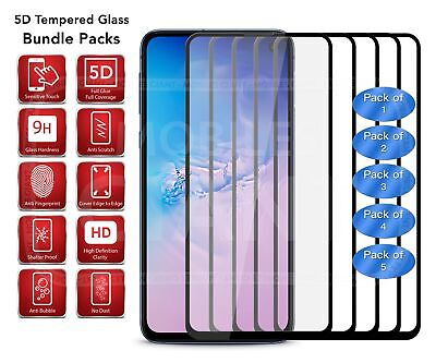 5D Tempered Glass Full Glue for Samsung Galaxy A40 (2019) SM-A405FD in Black