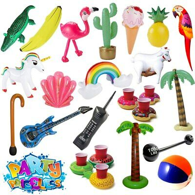 Inflatable Fancy Dress Accessories Props Blow Up Summer Holiday Garden Party
