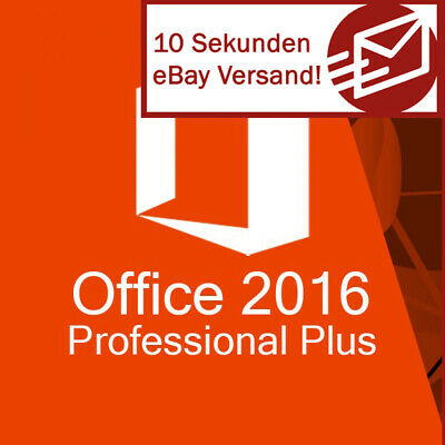 Microsoft Office 2016 Professional Plus Vollversion Software Email Key Download