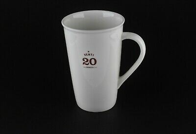 Starbucks 2010 Tall White Venti 20 Ounces Coffee Cup Mug