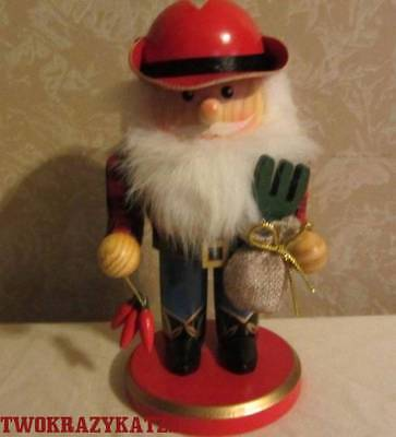 Wooden Mexican Cowboy Nutcracker Figurine Christmas Decor 7""