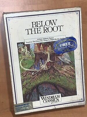 Vintage BELOW THE ROOT - Commodore 64 - Windham Classics - C64 - Tested