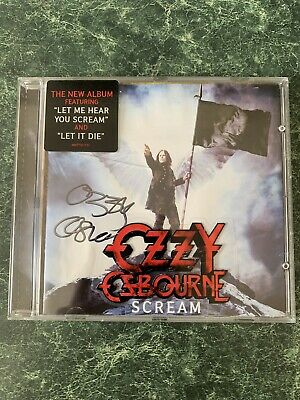 Ozzy Osbourne - Scream Signed Album 2010