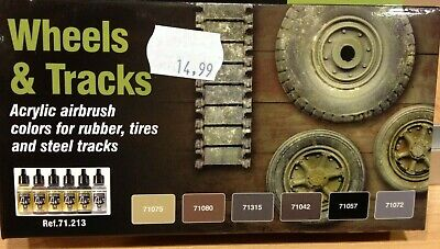 Vallejo Wheels & Tracks Set,Ref.71.213