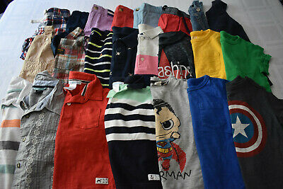 Used 23 Pc. Lot Of Baby Boy Clothes 12-18 Months Euc