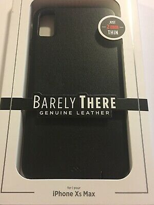 Case Mate Studio Collection Barely There Carbon Black Case for iPhone 5C