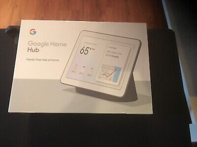 Google Home Hub With Google Assistant New In Box Charcoal
