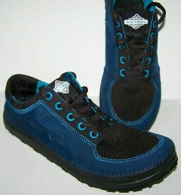 SALE! Astral BREWER Running Shoes Blue Fabric Men's 9.5(D, M)
