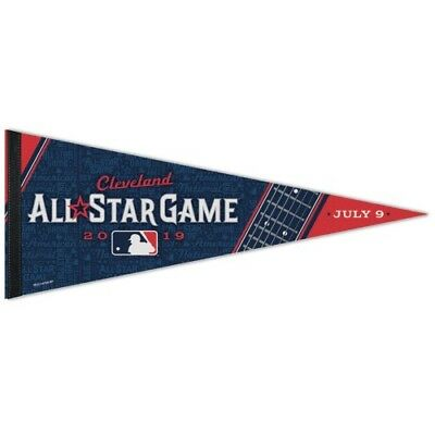 "Cleveland Indians 2019 All Star Game Premium Quality Pennant 12""X30"" Banner Mlb"