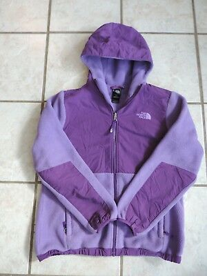 94eca2d27 THE NORTH FACE Purple Soft Fleece Sweater Size Girls Youth XL 18 ...