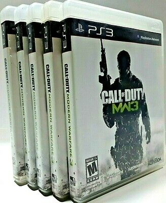 Call of Duty MW3 Modern Warfare 3 COMPLETE Sony PlayStation 3 PS3 FPS VIDEO GAME