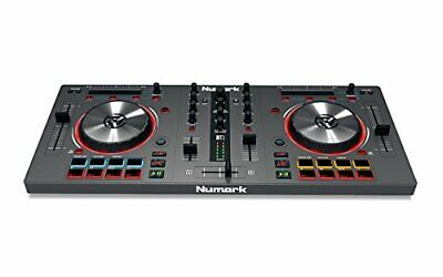Numark Mixtrack 3 All-In-One Controller Solution for Virtual DJ, Black