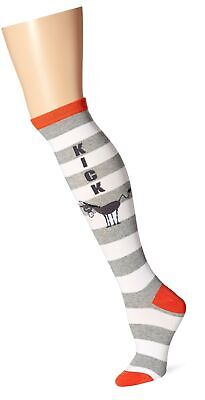 Parrot Feather Bright Multi Color Women/'s Knee High Socks K Bell