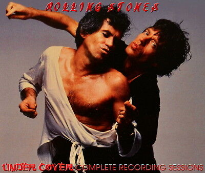 The Rolling Stones - UNDERCOVER COMPLETE STUDIO SESSIONS 5CD + Bonus DVDR
