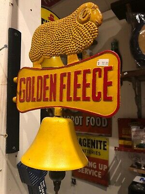 Golden Fleece Retro Cast Iron Bell