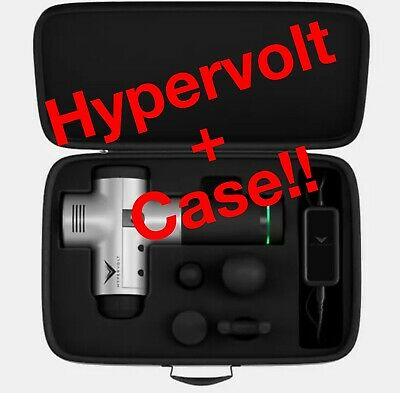 ** BEST DEAL** New HYPERICE HYPERVOLT Massage Tool & Hyperice Carrying Case