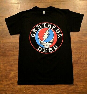 New Grateful Dead Steal Your Face T Shirt
