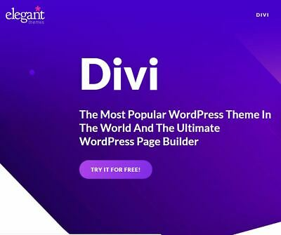 |10 in 1| Divi 4 Elegant Themes+ Divi Builder + Bloom + Monarch + 6 Extra Themes
