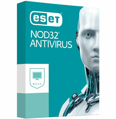 ESET NOD32 Antivirus 2019 - 3 Computers 3 years - Instant Delivery via Email Key