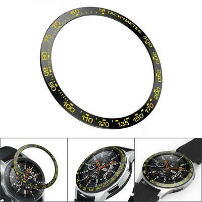 Anti Scratch Metal Bezel Ring Adhesive Cover Case for Samsung Galaxy Watch 46mm