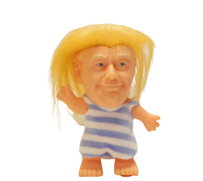 President Donald Trump Collectible Troll Doll