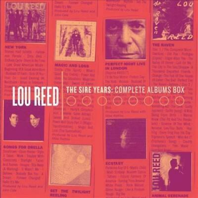 Lou Reed 10 Cd Box Set- The Sire Years: Complete Albums Sealed New Cd