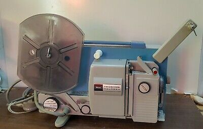 Vintage Ricoh Trioscope Halogen 8mm movie Projector