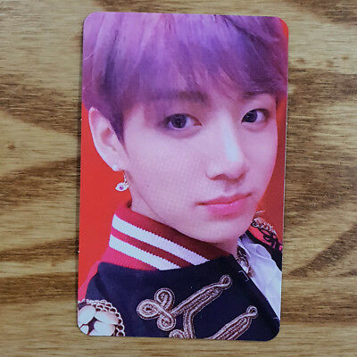 Jungkook Official Photocard BTS Love Yourself Answer S Version Genuine Kpop