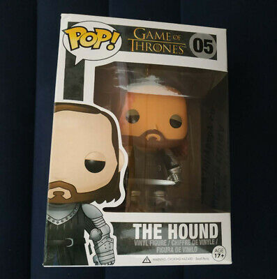 Funko POP Vinyl Figure Game Of Thrones The Hound #05 Vaulted